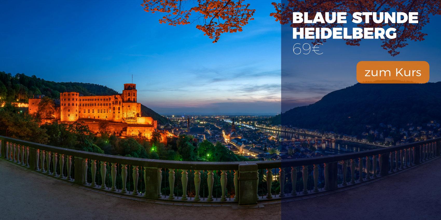 Fotokurse und Fotoworkshops | Fotosafari Heidelberg